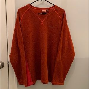 MERREL • great quality burnt orange sweater • L
